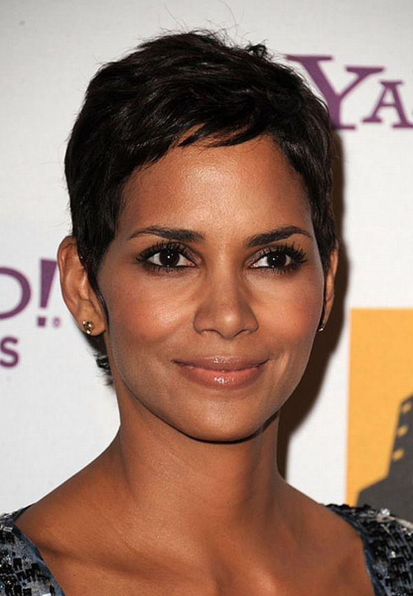 halle berry | Halle Berry:Style:Short Curls