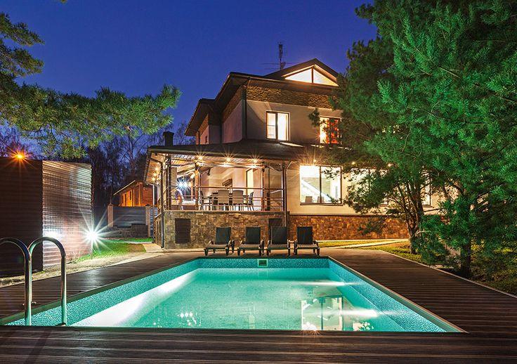 Четырехуровневый дом в экологическом стиле | Архитектурные проекты | Журнал «Красивые дома»