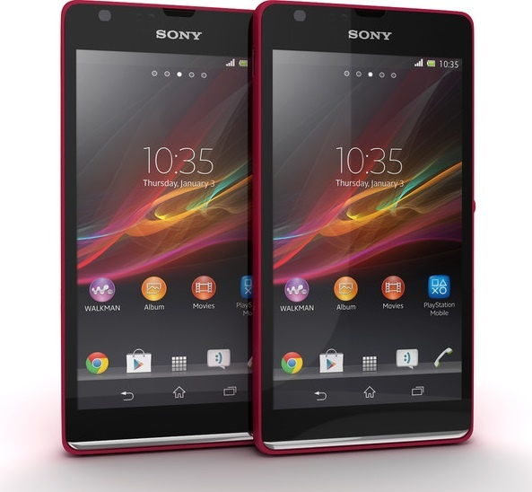 Red Sony Xperia SP x 2