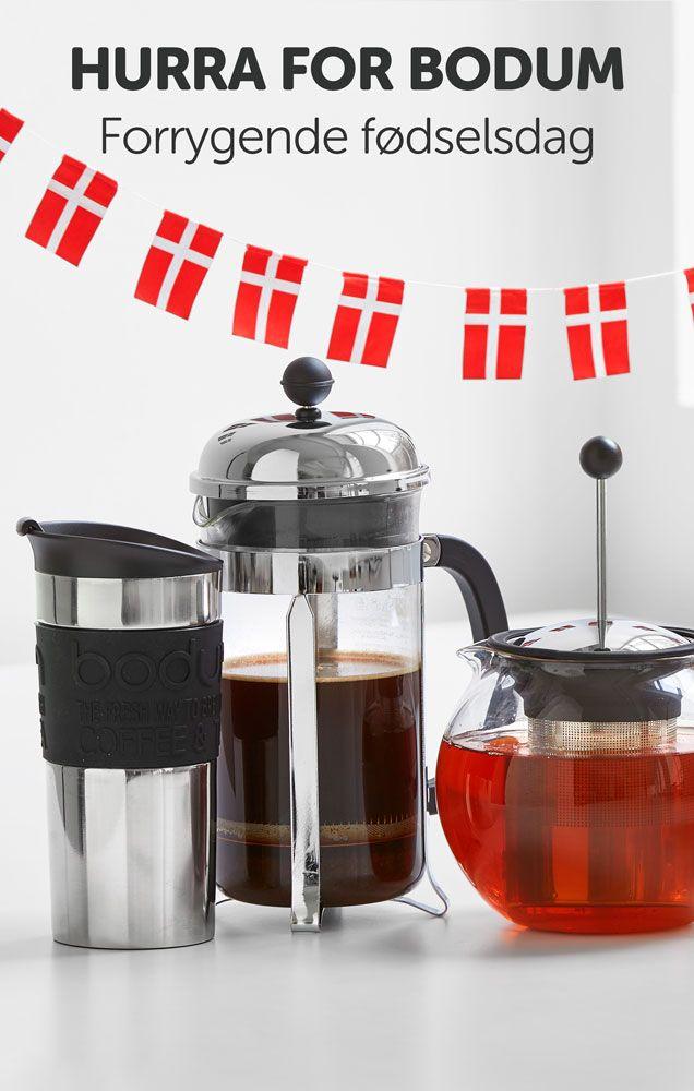 HURRA for Bodum find lækre kaffebryggere, tekander, og rejsekrus. #Bodum #te #kaffe #The #Coffee
