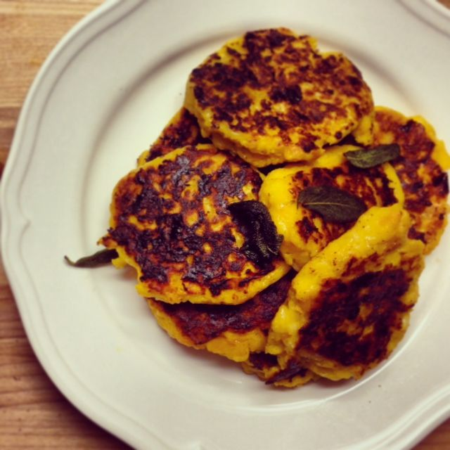 Jamie Oliver's Butternut Squash Fritters