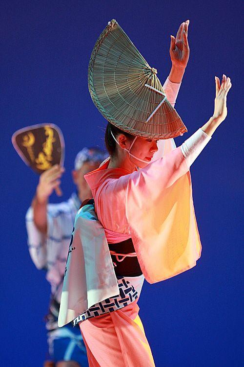 阿波踊りの踊り子 Awa odori dancer