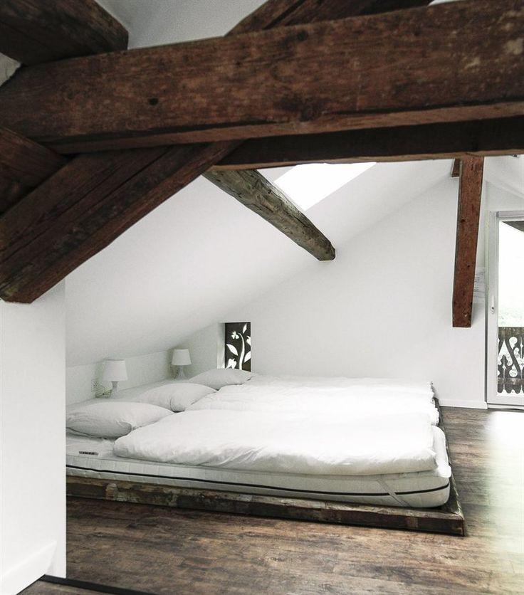 Exposed beams | Virginie's Swiss chalet | live from IKEA FAMILY