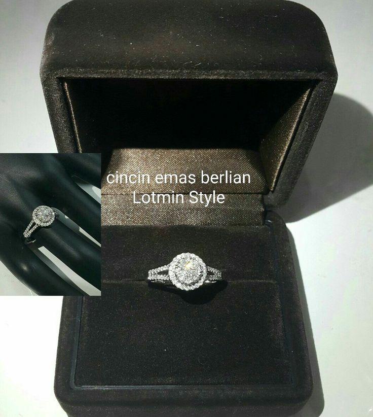 New Arrival🗼. Cincin Emas Berlian Lotmin Style💍.   🏪Toko Perhiasan Emas Berlian-Ammad 📲+6282113309088/5C50359F Cp.Antrika👩.  https://m.facebook.com/home.php #investasi#diomond#gold#beauty#fashion#elegant#musthave#tokoperhiasanemasberlian