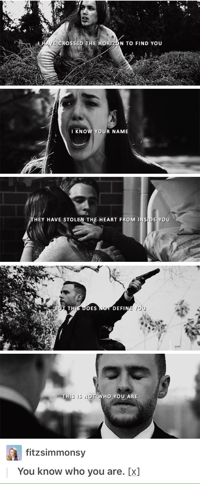 Marvel's Agents of SHIELD / Agents of Hydra: Framework-FitzSimmons