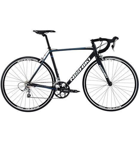 Nishiki Criterium är en landsvägscykel med fin trippelreducerad aluminiumram och detaljkvalitet i världsklass. En vass träningsracer som verkligen tål att jämföras.
