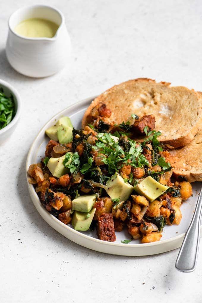 Vegan Breakfast Hash Recipe In 2020 Breakfast Hash Vegetarian Breakfast Recipes Vegan Breakfast