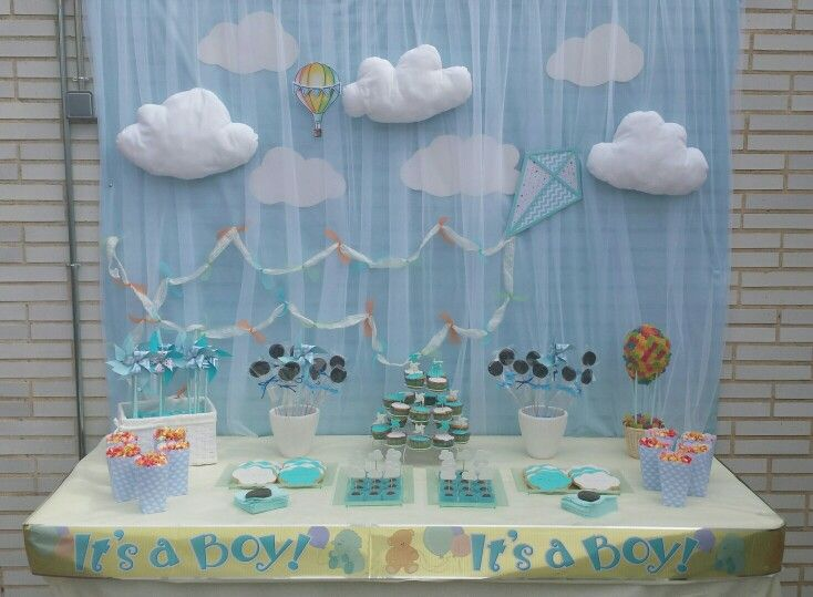 Mesa dulce para una baby shower mesas dulces pinterest for Mesa dulce para baby shower