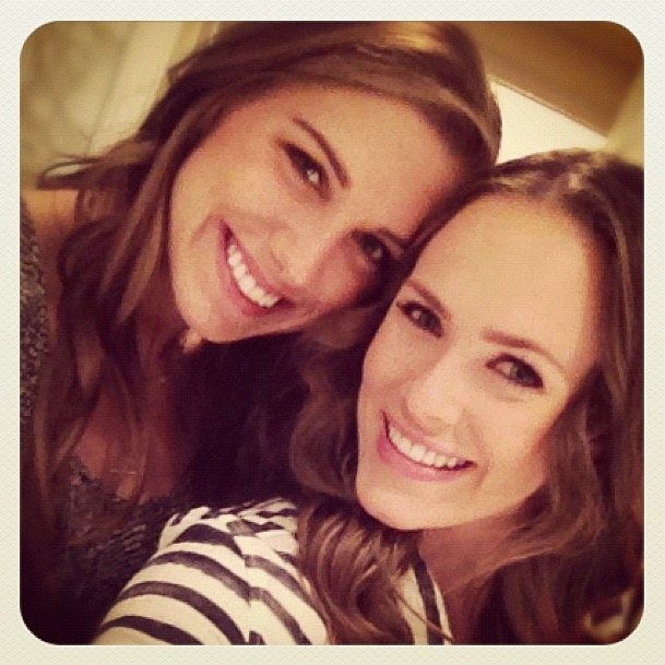 Alex Morgan and friend Kara Keough. (karakeough1/Instagram ...