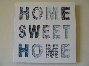 Decoreer uw muren in de woonkamer of andere ruimte in de woning met leuke goedkope tekstborden