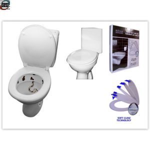 Soft close toalettsete - Utstillingsmodell