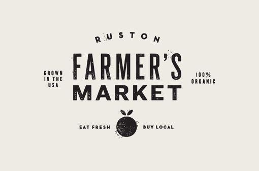 Ruston Farmer's Market by Jake Dugard