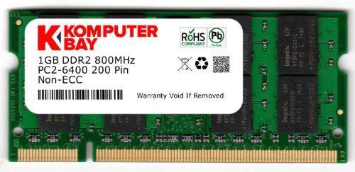 cool Komputerbay - Memoria SODIMM para portátiles (4 GB, 2 x 2 GB, DDR2, 800 MHz, PC2-6300, 200 pines)