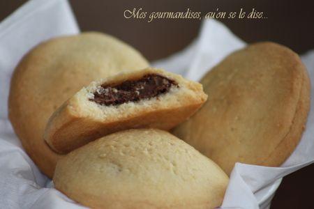 galletas de nutella -- by Mes Gourmandises, qu'on se le dise...