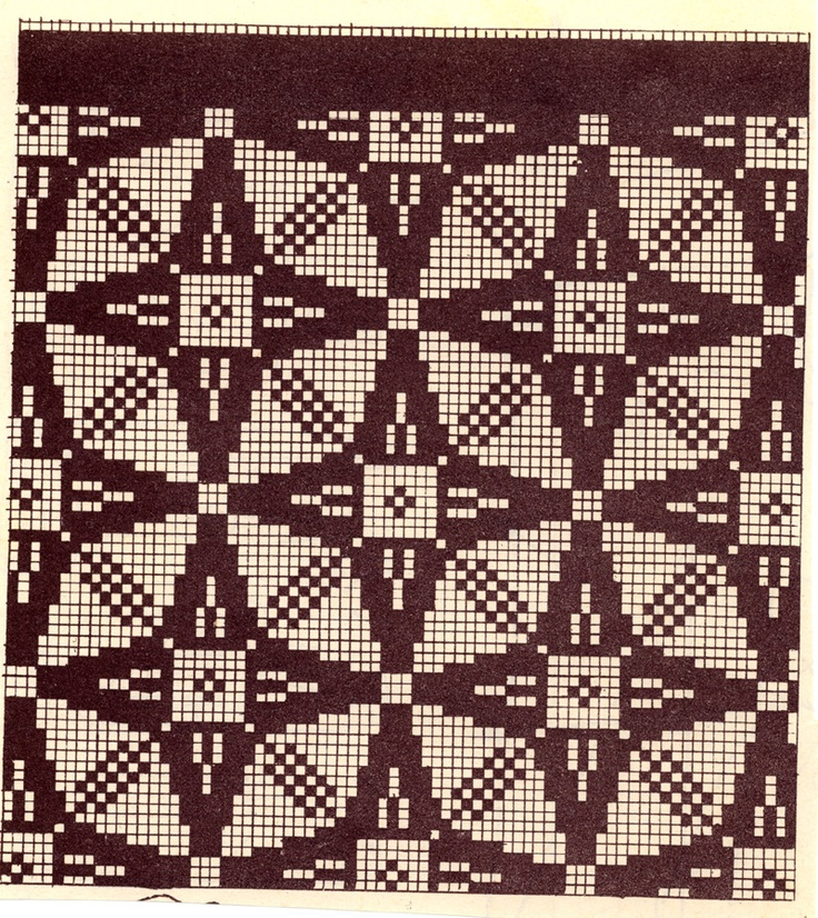 Estonian. I saw an Estonian jumper made using this pattern - navy blue and white - and completely stunning.