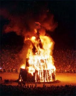 Aggie Bonfire-so much Aggie pride, so much comraderie.  Burn baby burn.