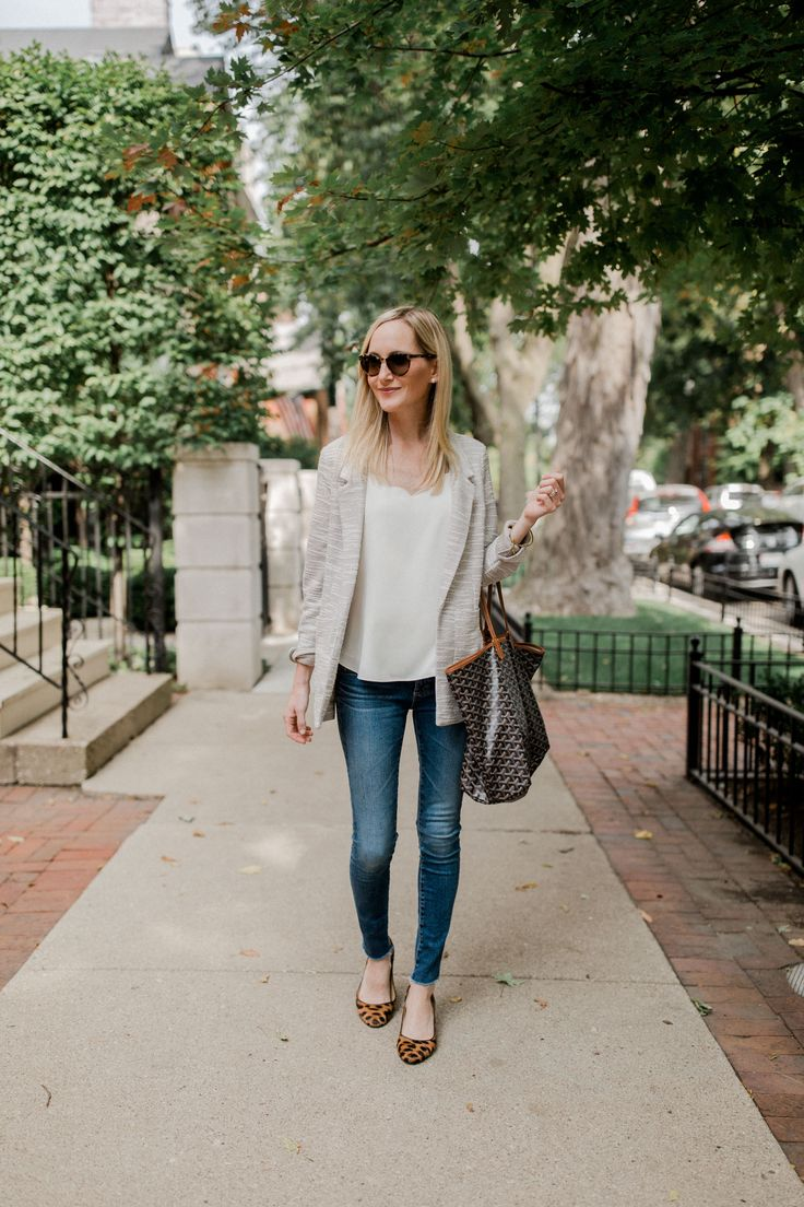 7 Preppy Sweater Blazers for Fall. How to style Fall sweater blazers so you look professional and not too relaxed.