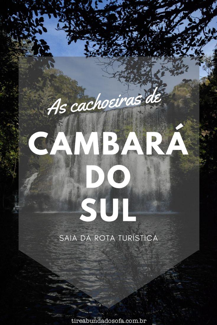Saia da rota turística e visite as cachoeiras de Cambará do Sul. Cachoeira do Tio França, Cachoeira dos Venâncios, Cascata Véu da Noiva e por ai vai. A beleza do Rio Grande do Sul além dos cânions!