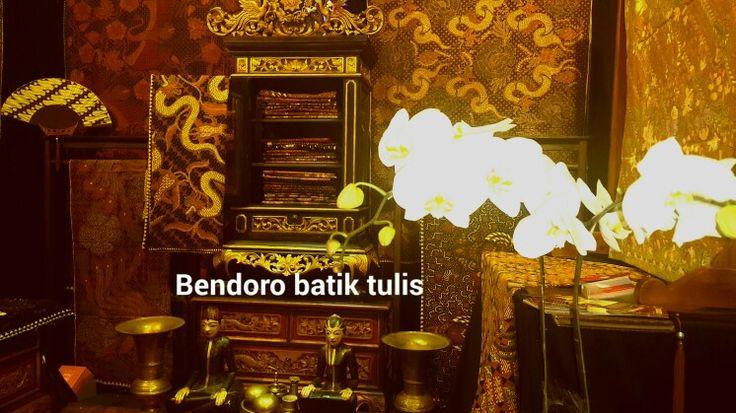 Bendoro batik tulis in gelar batik nisantara 2015