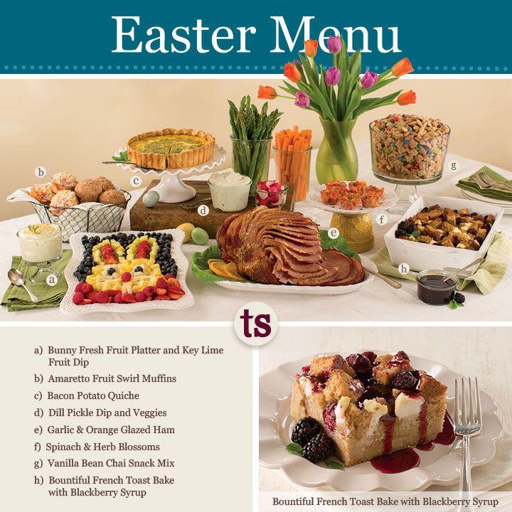 14 best easter celebration menu images on pinterest for Easy easter menu ideas