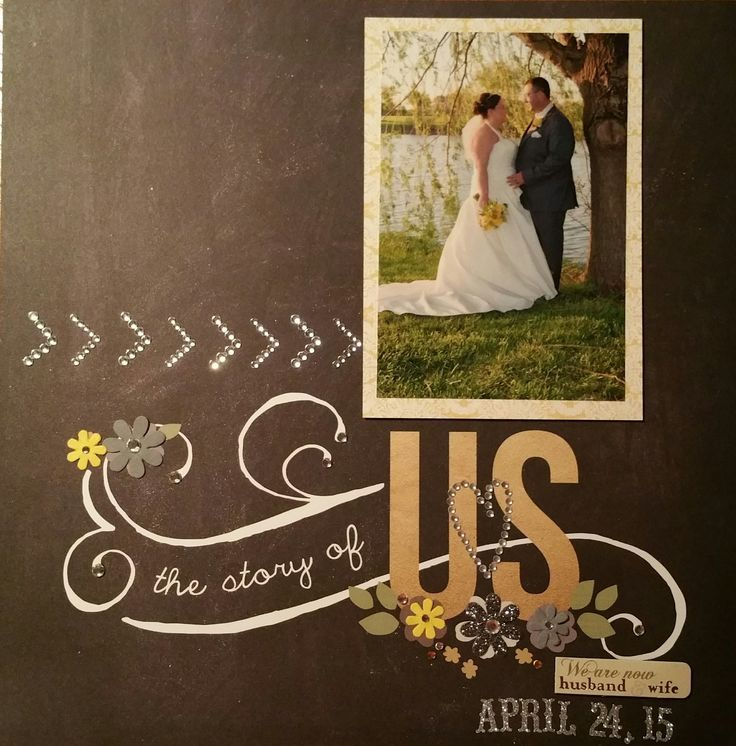 invitation letter for us vissample wedding%0A The Story of Us  Wedding Layout  Could be title page to a wedding album