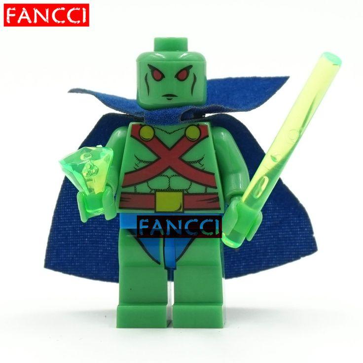 SingleSale Марсианин Marvel DC Super Heroes Мстители Лига Справедливости Minifigures Собрать Строительных Блоков Детские Игрушки