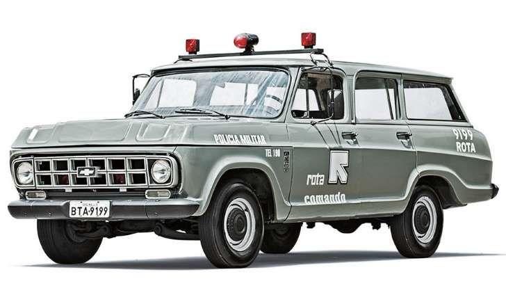 Chevrolet Veraneio 1988: utilitário exigia perícia do motorista nas perseguições…