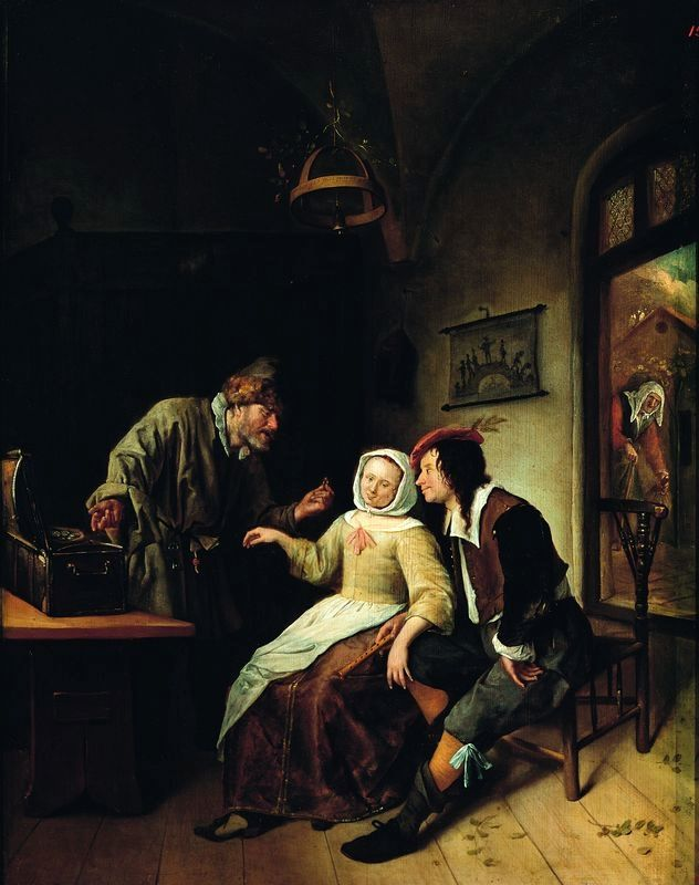 Steen Choice between richness and youth - Jan Steen - Wikimedia Commons