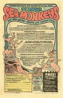 1978 Super Sea Monkeys comic book ad | by Paxton Holley
