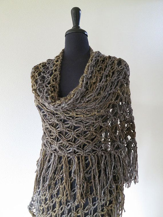 Crocheted Stole Wrap - inspiration
