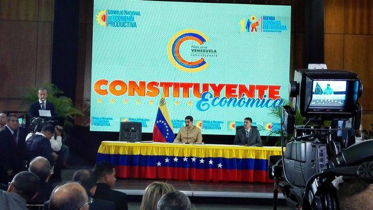 ¡SOLO PARA ENCHUFADOS! 9ª sesión del Consejo de Economía Productiva cuenta con la presencia de Maduro - http://www.notiexpresscolor.com/?p=176170