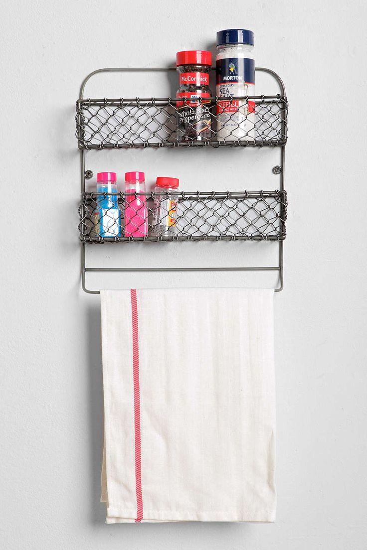 4040 Locust Wire Kitchen Storage Rack
