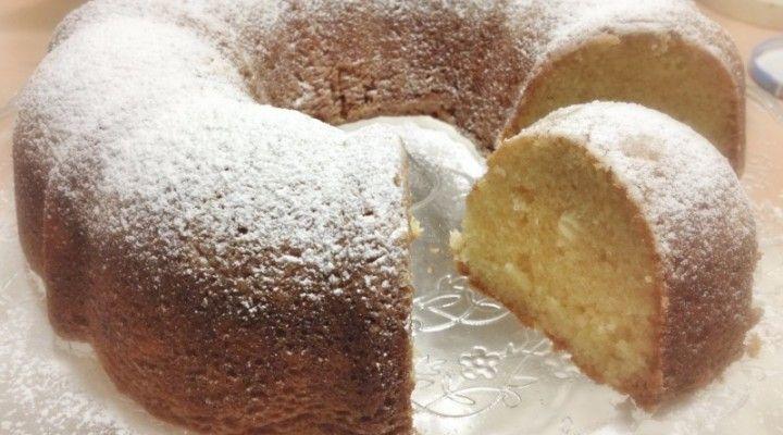 Torta al siero di kefir morbidissima