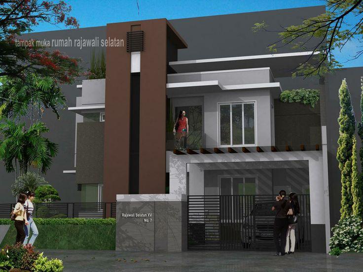 Desain Rumah Mungil 3 Lantai