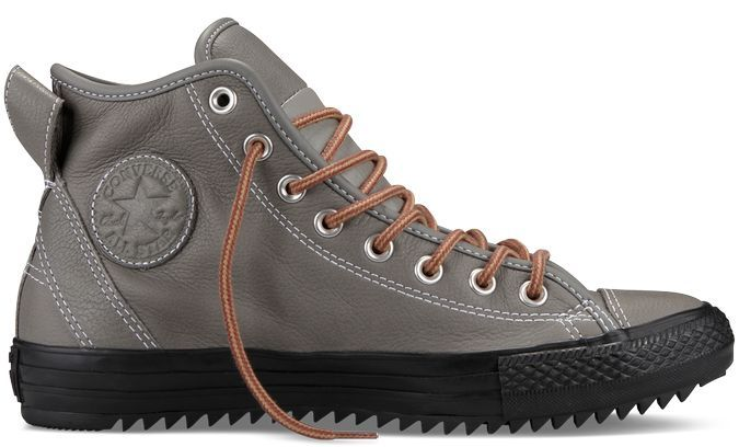 Converse Chuck Taylor. Hollis Thinsulate Boot - Gray Winter Sneaker Boots