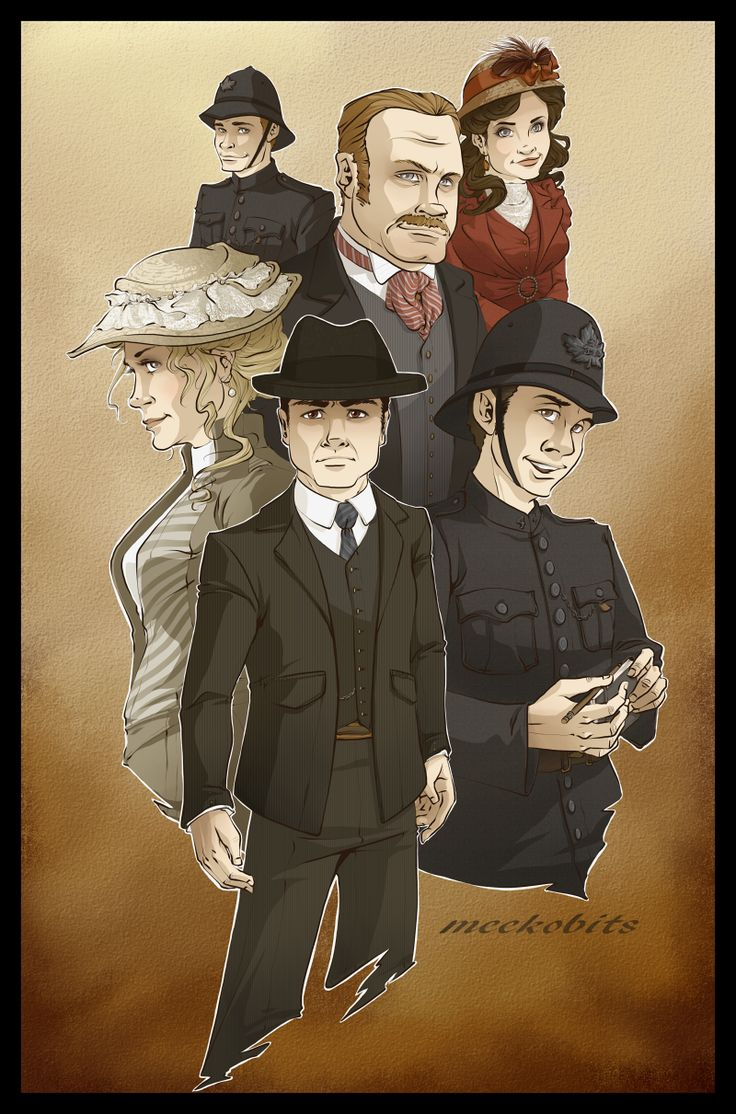 Murdoch Mysteries by Meek-o-bits.deviantart.com on @DeviantArt