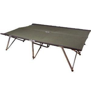 KAMPA FOLDING/PORTABLE TOGETHER DOUBLE CAMP BED CAMPING