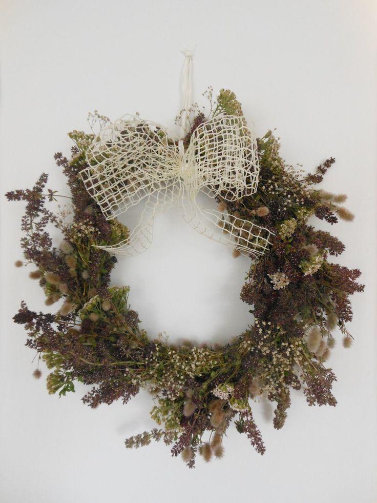 My DIY decoration #herbs #nature #DIY #decorations #design #wreath