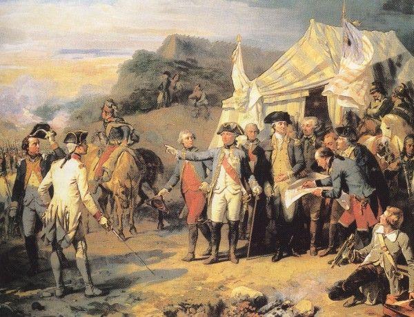 Siege of Yorktown - Augusta Couder