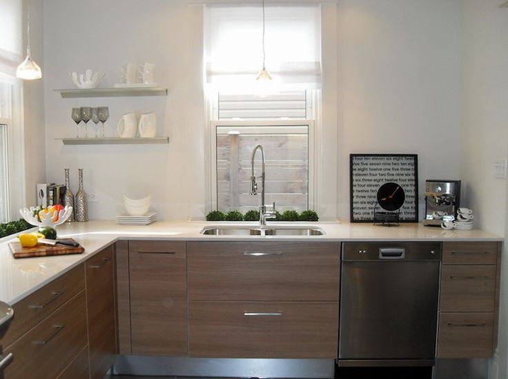 Quartz Counters Modern European Kitchen Design With Stainless Steel . Part 55