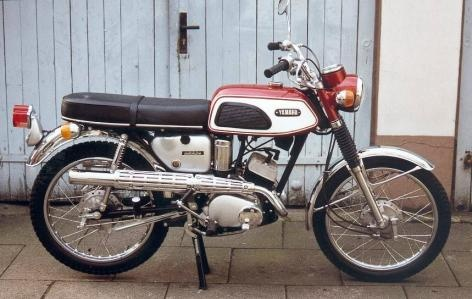 yamaha 125 twin scrambler 1968 mb motorcycle club pinterest the o 39 jays motorbikes and twin. Black Bedroom Furniture Sets. Home Design Ideas