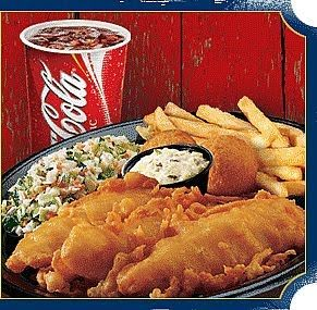 Captain D's fish is my favorite ever!!  Something about that crunchy batter!