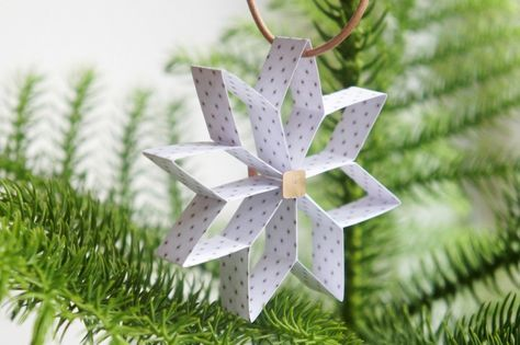 DIY julepynt: 8-takket julestjerne