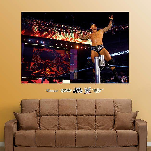 Randy Orton Mural Fathead Wall Decal Part 46