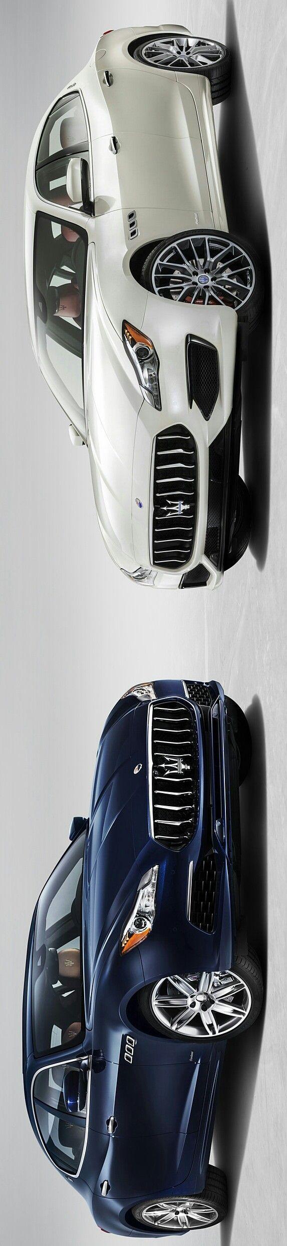 2017 Maserati Quattroporte S Q4 GranLusso & 2017 Maserati Quattroporte GTS GranSport by Levon