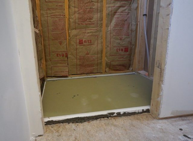 How To Build A Shower Pan Shower Floor Before Installing The