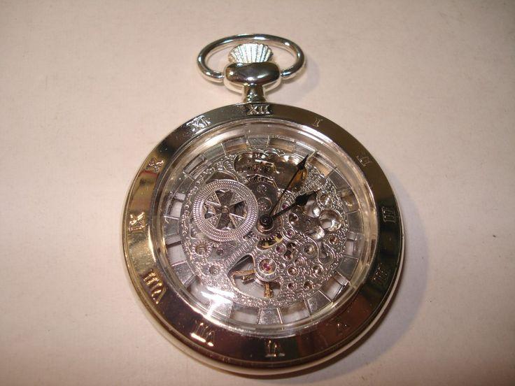 Relógio De Bolso Réplica Do Antigo Corda Manual-2 Tampas - R$ 40,00 no MercadoLivre