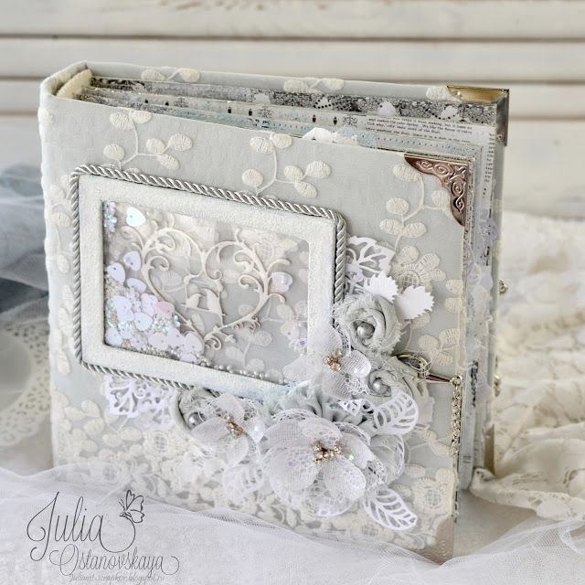 Julia Ost handmade: Свадебный альбом.