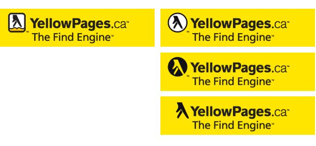 Yellow Pages site header