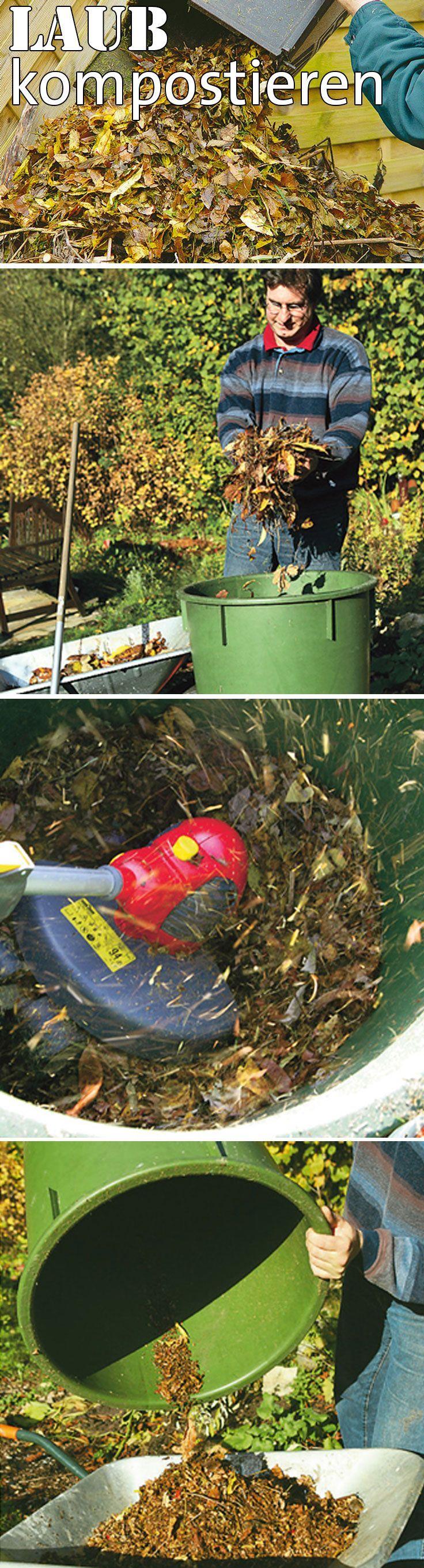 Im Herbst fällt meist eine ganze Menge Laub von den Bäumen ab. Aber statt das Laub einfach wegzuwerfen, kannst du es sinnvoll nutzen. Entweder zur Flächenkompostierung oder im normalen Kompost. Allerdings solltest du es dann zuvor zerkleinern, damit es schneller zersetzt werden kann. Und auch die Menge ist nicht unwichtig. Wir erklären, was es zu beachten gilt. #Kompost #komposthaufen